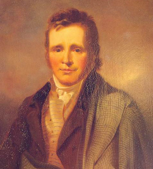 James Hogg painting